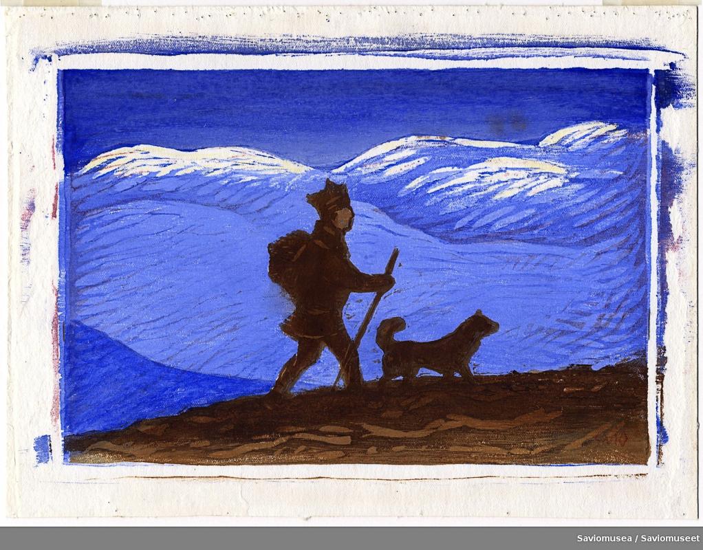 John Savio Uten tittel. Gjengitt med tillatelse fra John Savio-museet