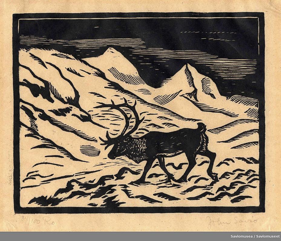 John Savio Uten tittel. Gjengitt med tillatelse fra John Savio-museet Uten tittel