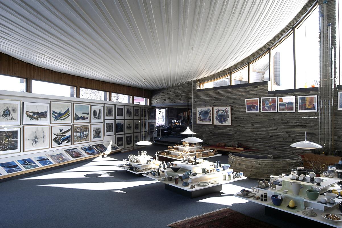 Fra det luftige galleriet (c) Juhls Silver Gallery