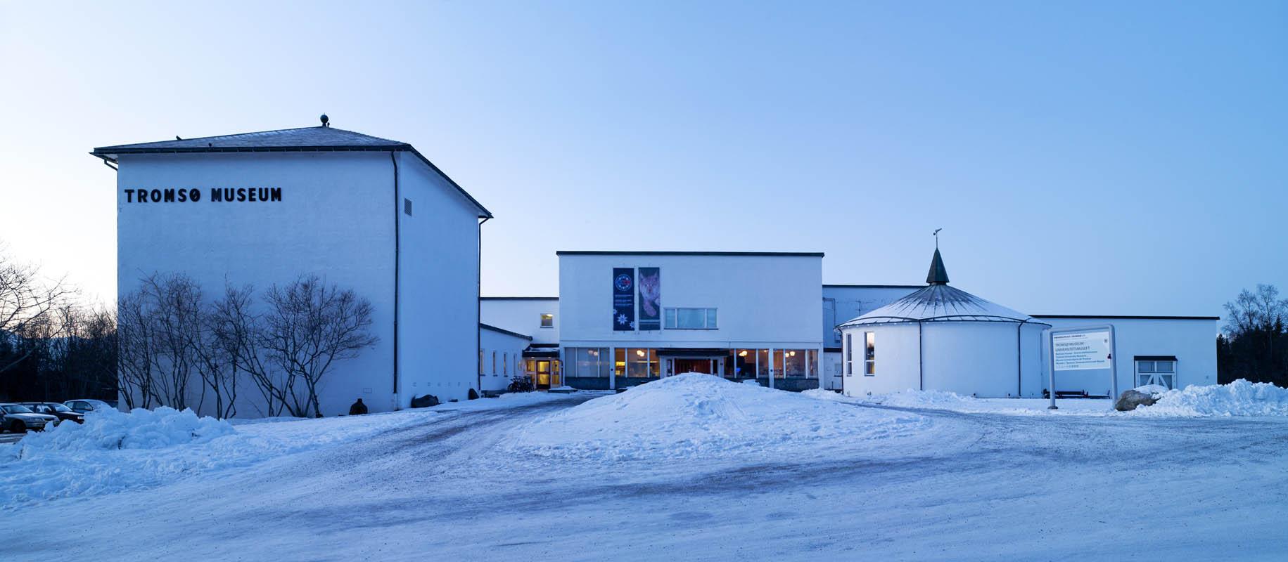 The museum during winter © Tromsø Museum