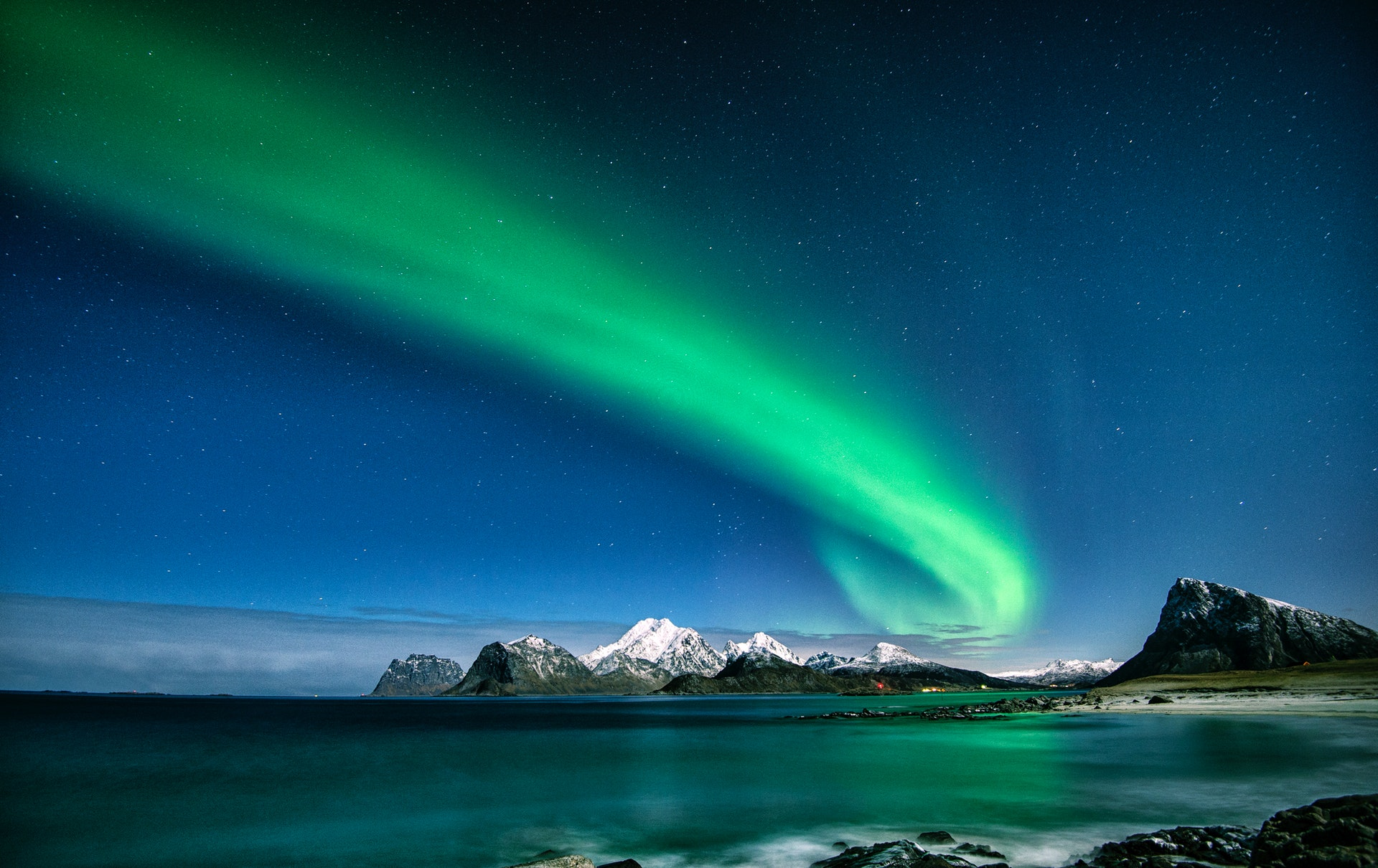 Nordlyset kan vise deg forskjellige farger