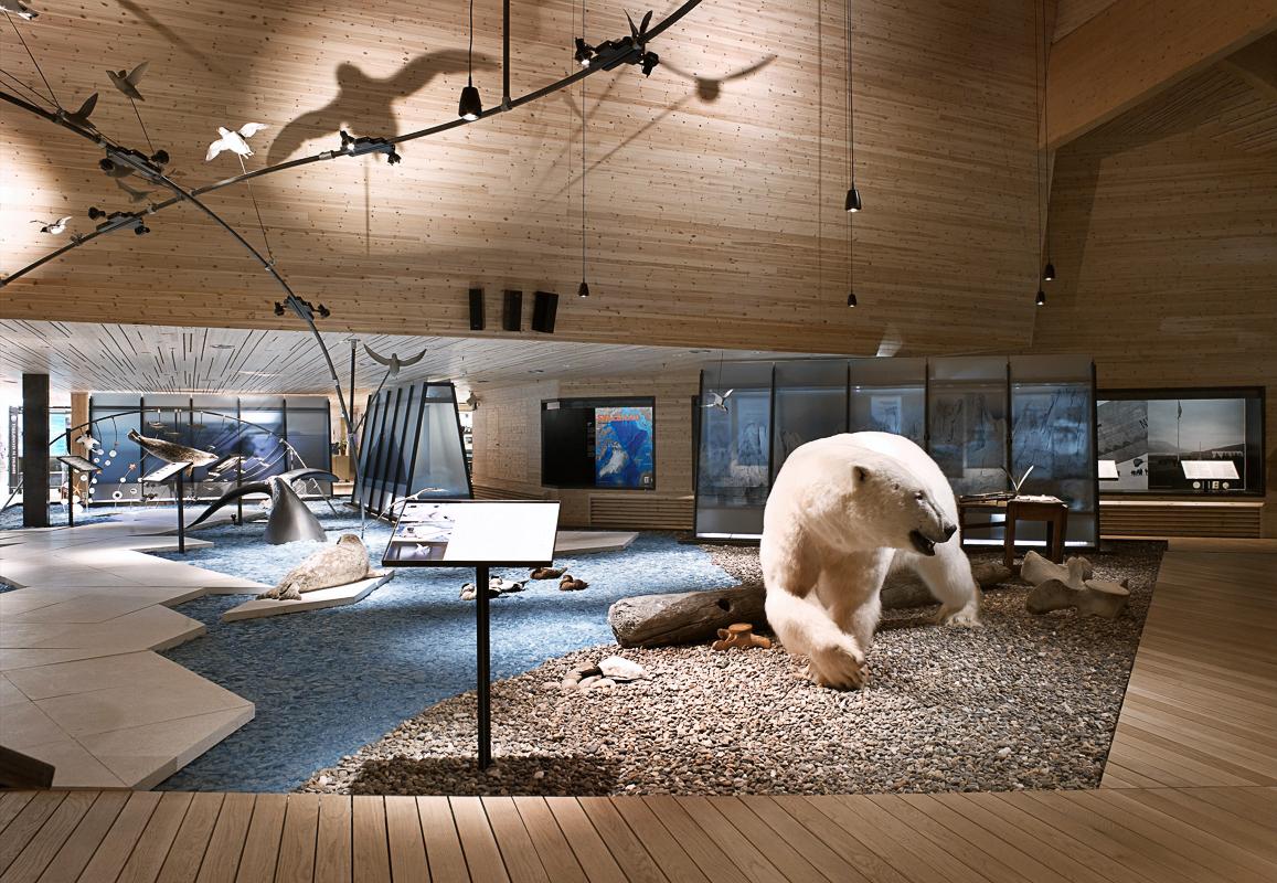 Svalbard Museum er et naturlig stopp på en bytur © Svalbard museum/Guri Dahl