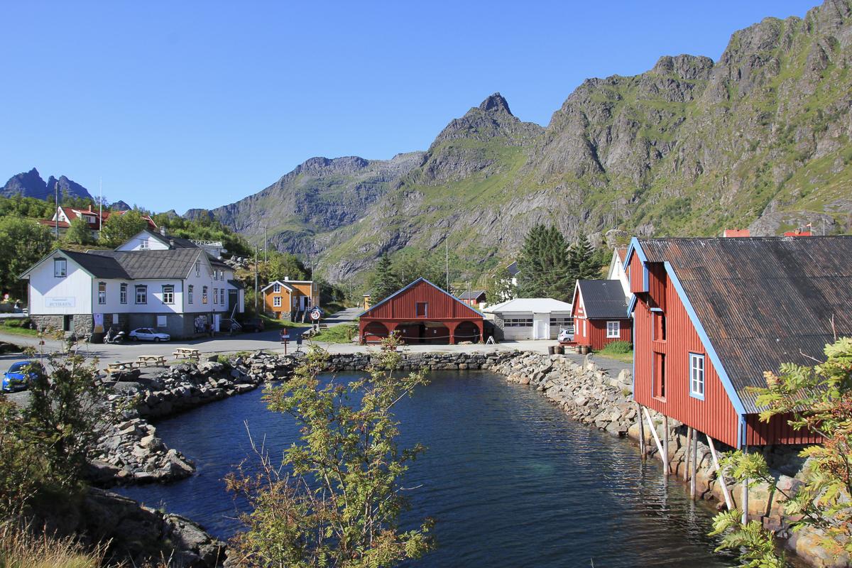 Views at Å © Norsk fiskeværmuseum Lofoten