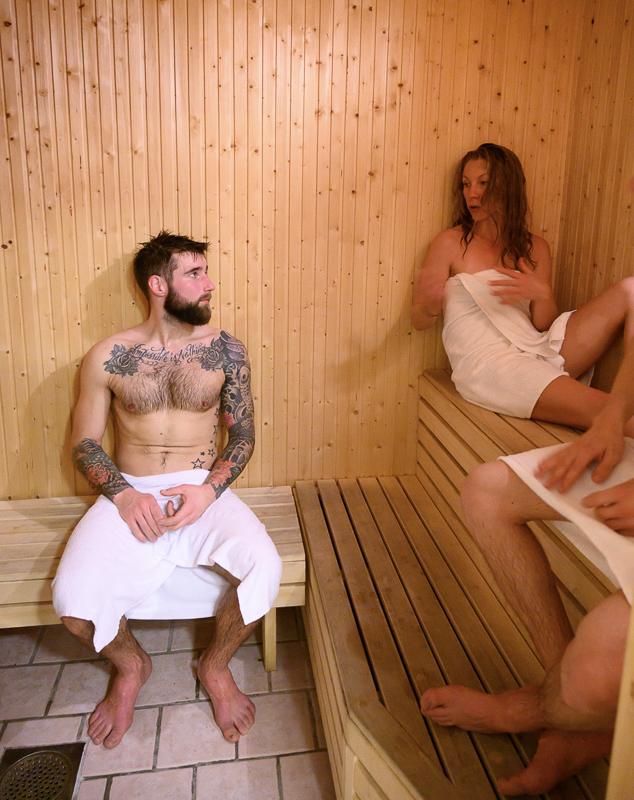 Badstua på Gratangen Fjellhotel er god å ha etter en dag på ski (c) Rune Dahl/Visit Narvik