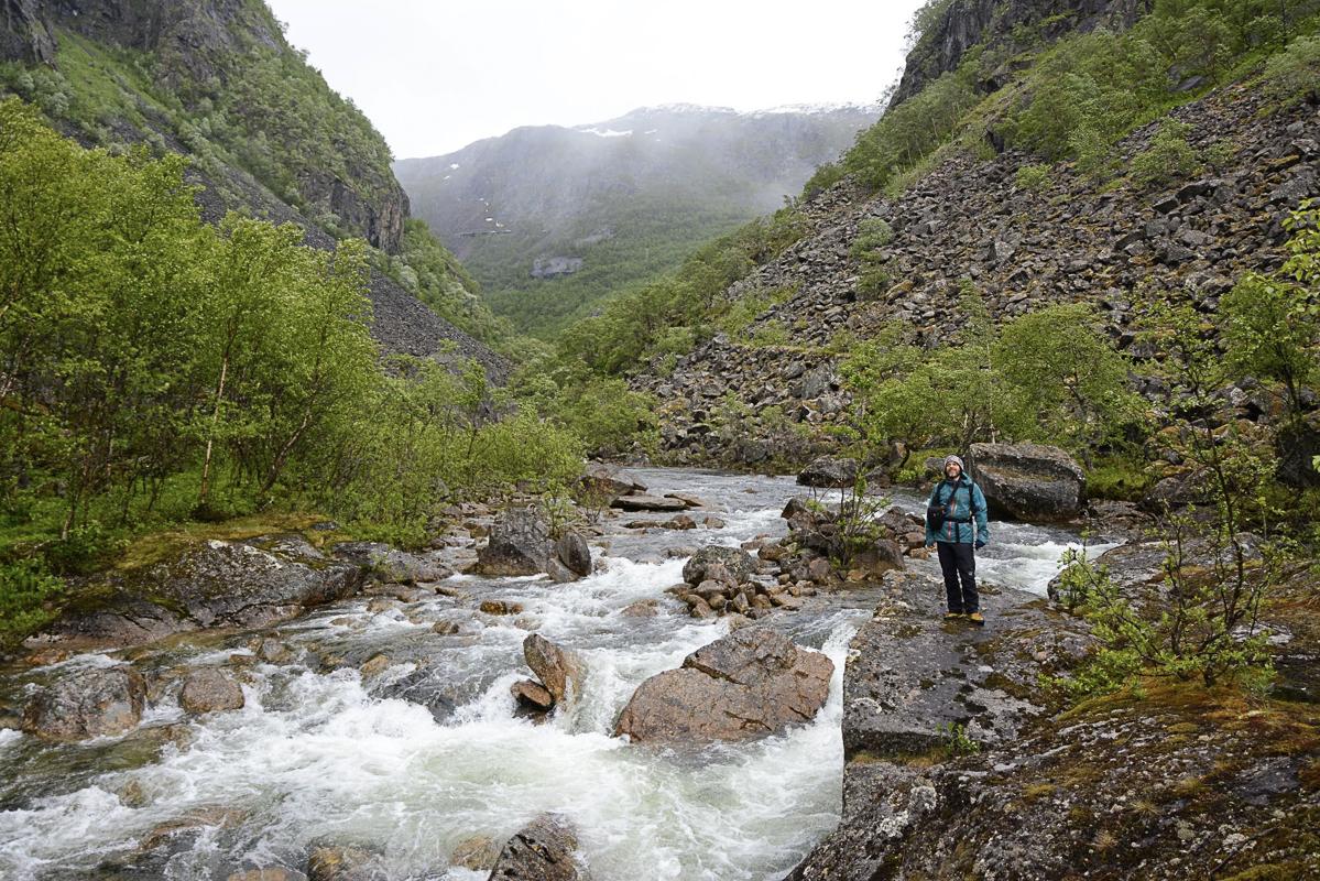Bilde tatt på brua over Storfossen © Knut Hansvold