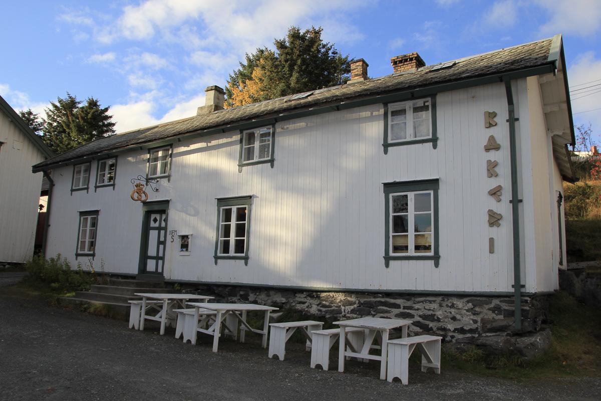 Bakeriet skulle skaffe brød til hundrevis av fiskere som dro ut fra Å © Norsk fiskeværmuseum