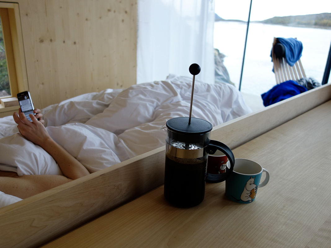 Hva med å ligge lenge? © Manshausen