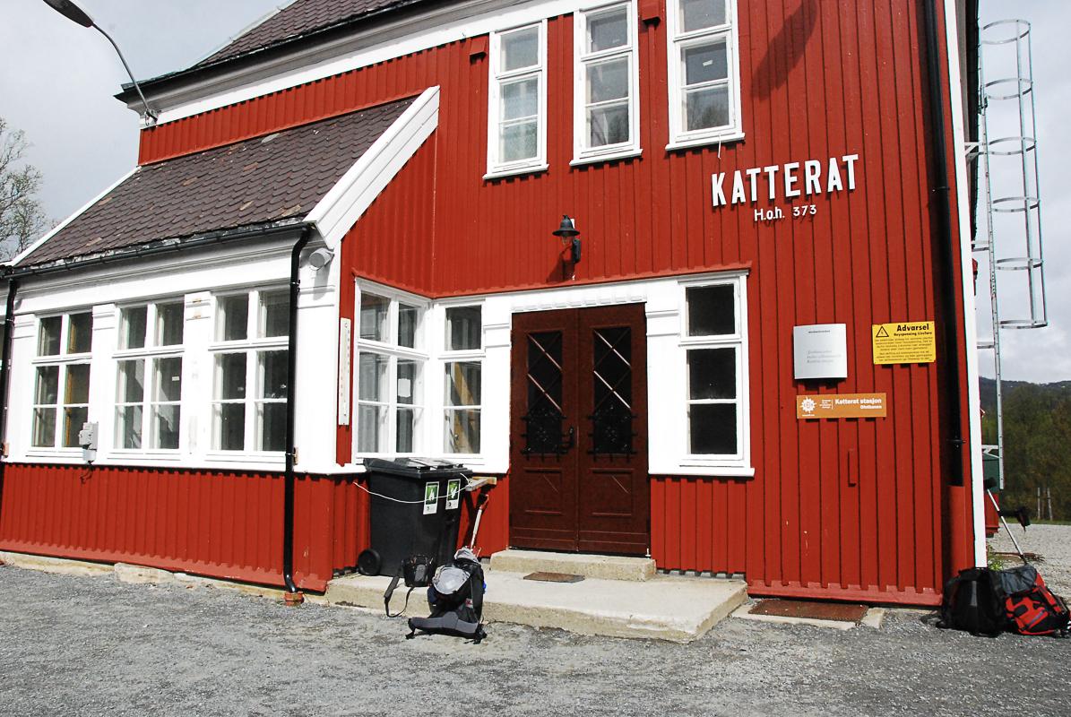Katterat er stasjonen du går av © Knut Hansvold