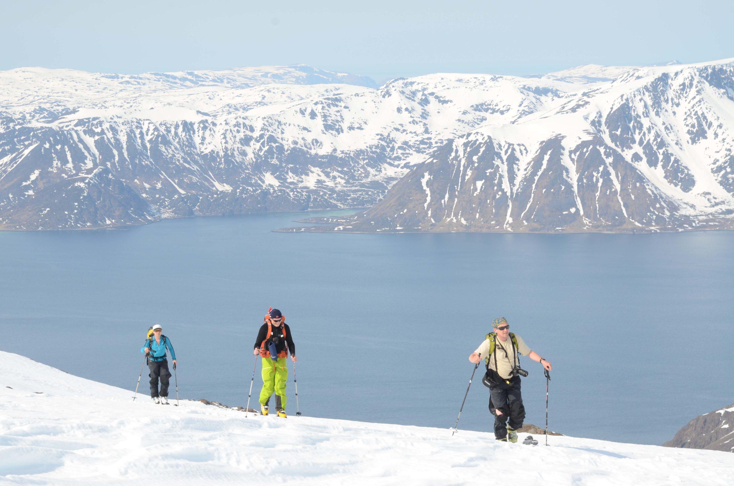 En kan leve et langt liv i fjellet i Nord-Norge, og sikkerhet trenger ikke gå på akkord med store opplevelser © Espen Nordahl