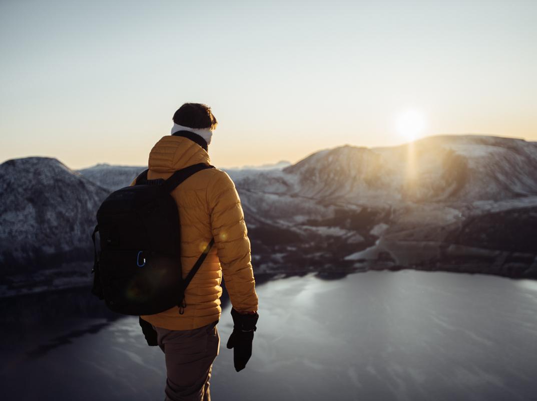 Noen ganger kan man gå om vinteren også © Visit Harstad