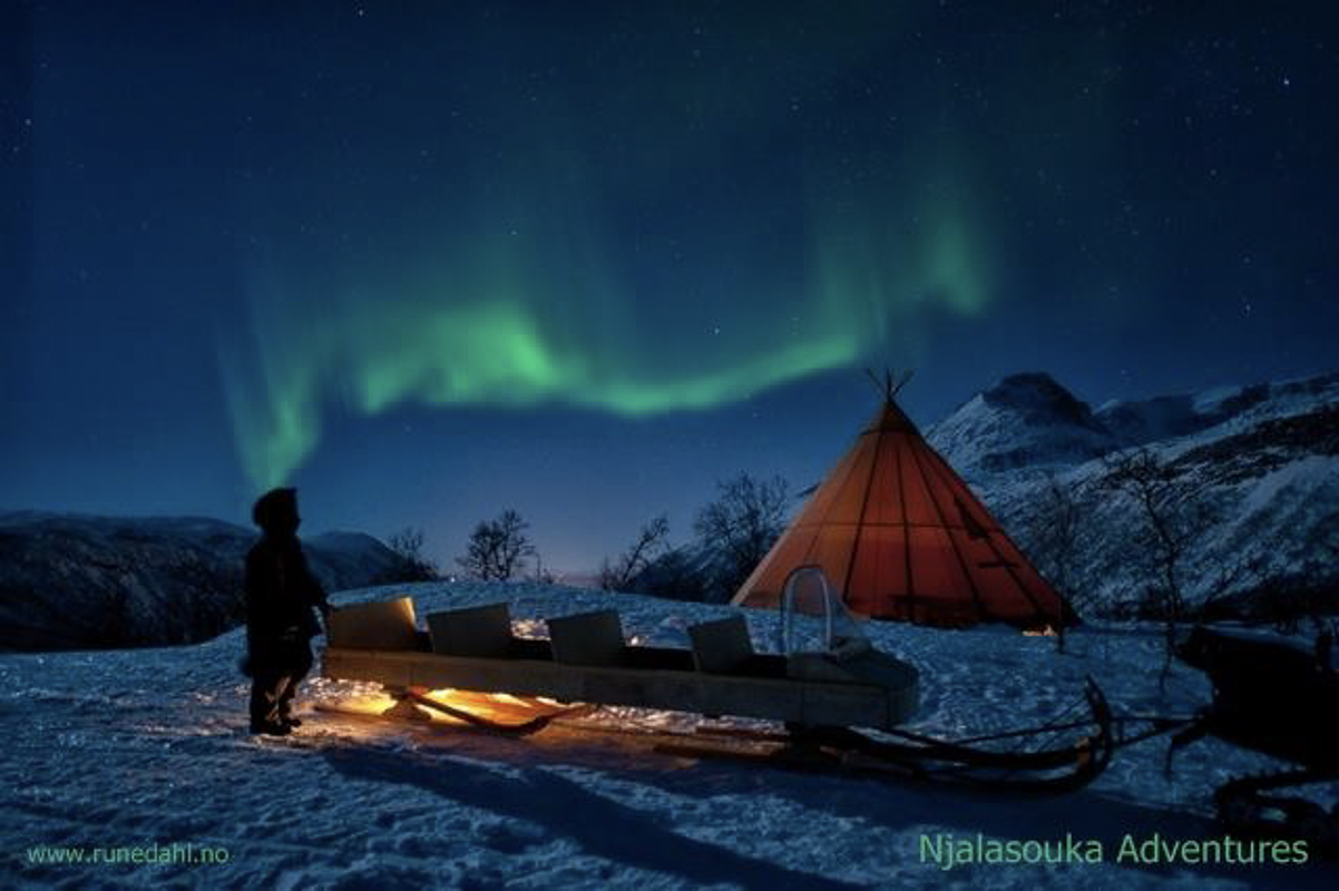 Nordlys i Finnmark