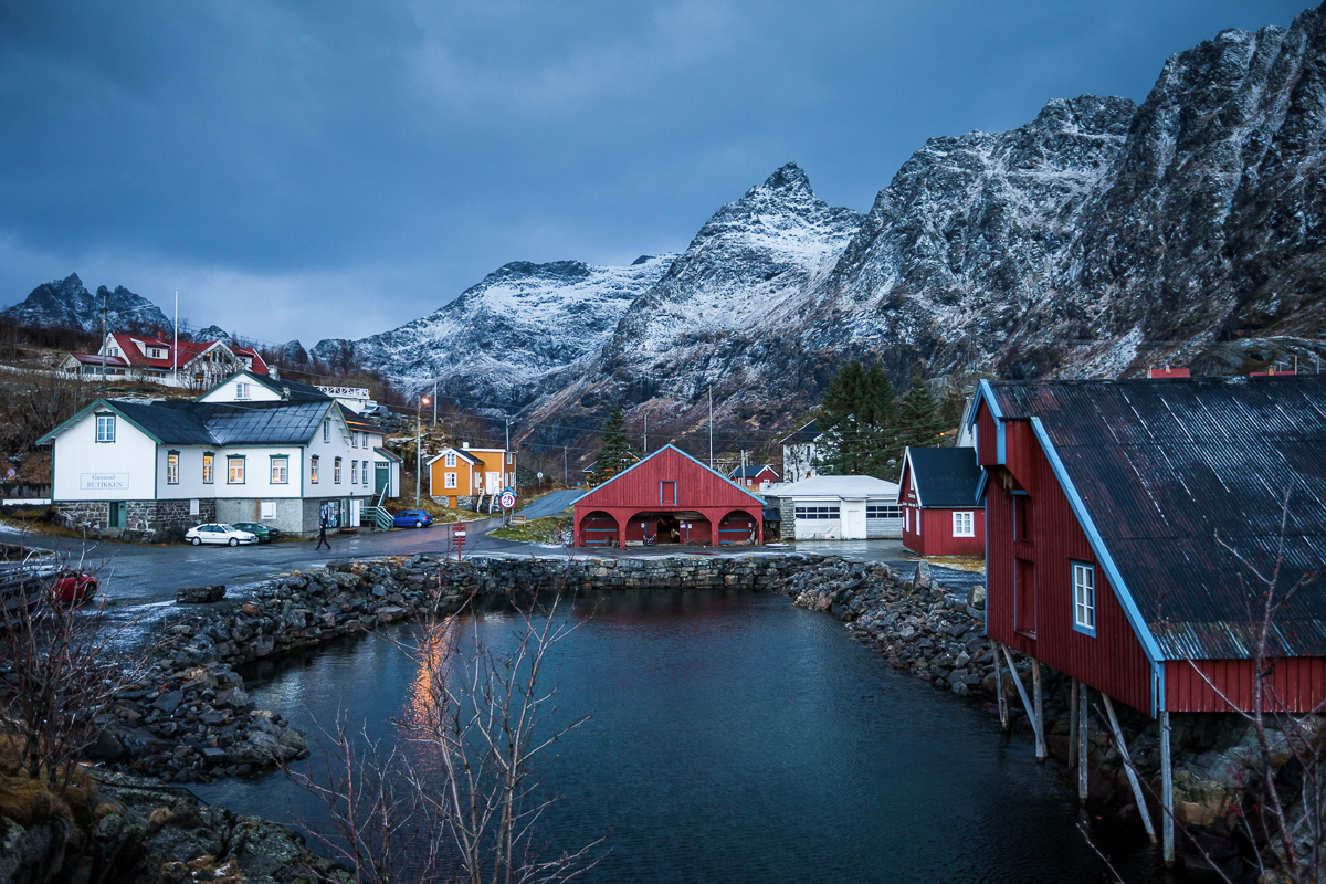 The setting for the museum couldn't be more perfect © Kjell Ove Storvik