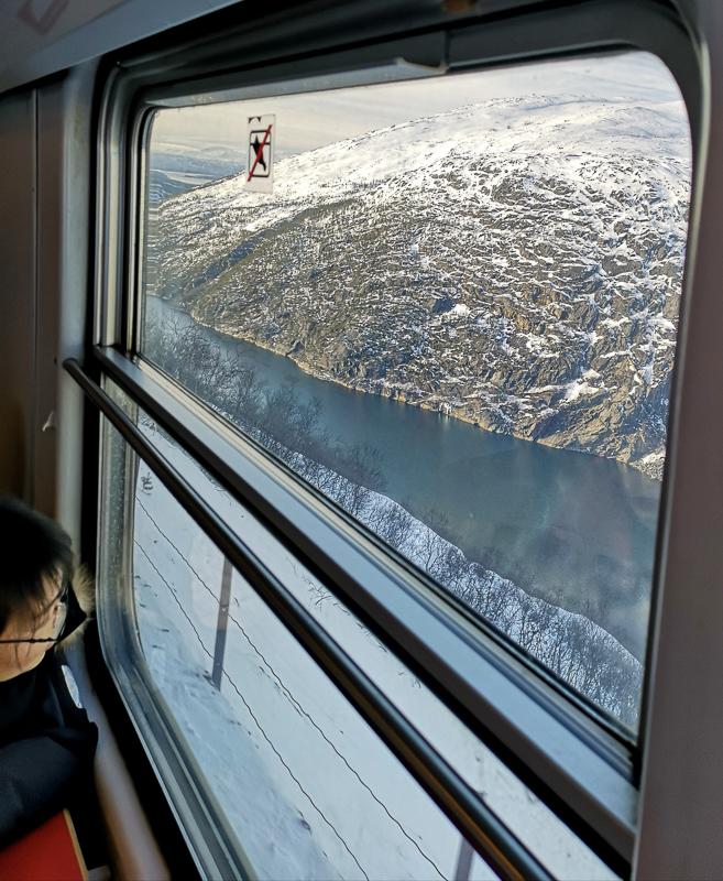 Fjorden er langt der nede (c) Christina Myrland