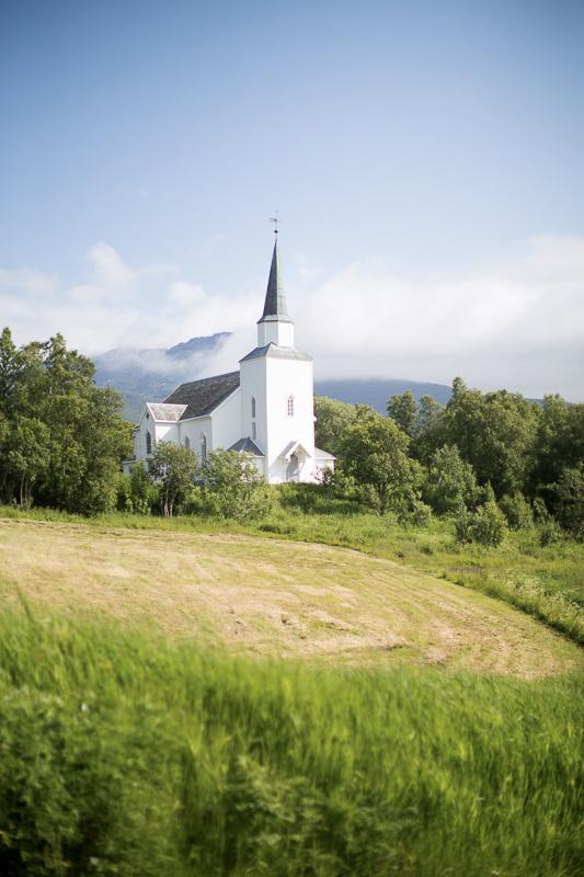 Kirken er fra 1880 © Jenny Hoff