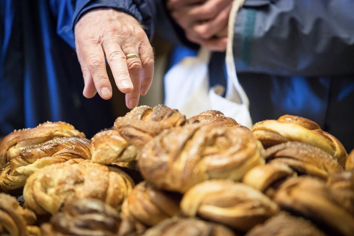 Cinnamon buns at the ready © Norsk fiskeværmuseum Lofoten