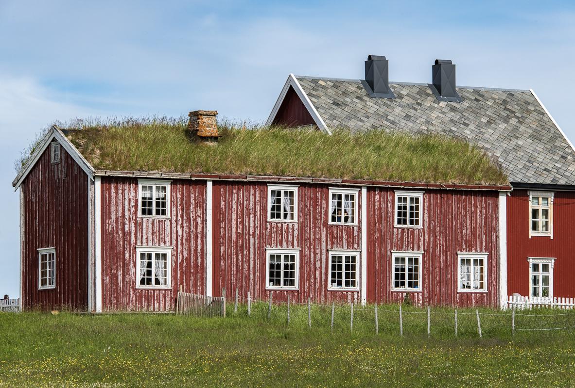 A Nordland house on Tranøya
