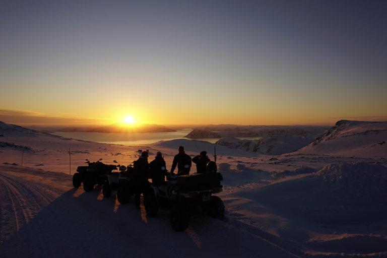Off piste wandering © Svein Petter Aagaard/NordNorsk Reiseliv_Lyn