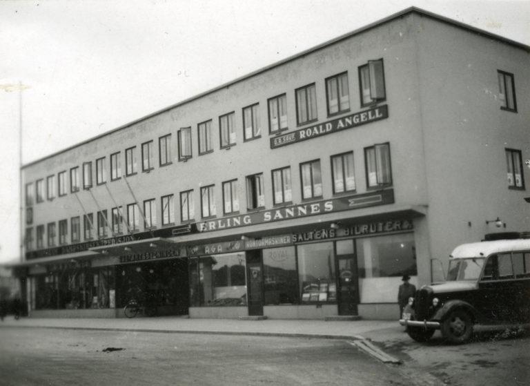 Sjøfartsbygninga © Fotografert av arkiktekten Henrik Andersen, gjengitt med løyve frå Nordlandsmuseet