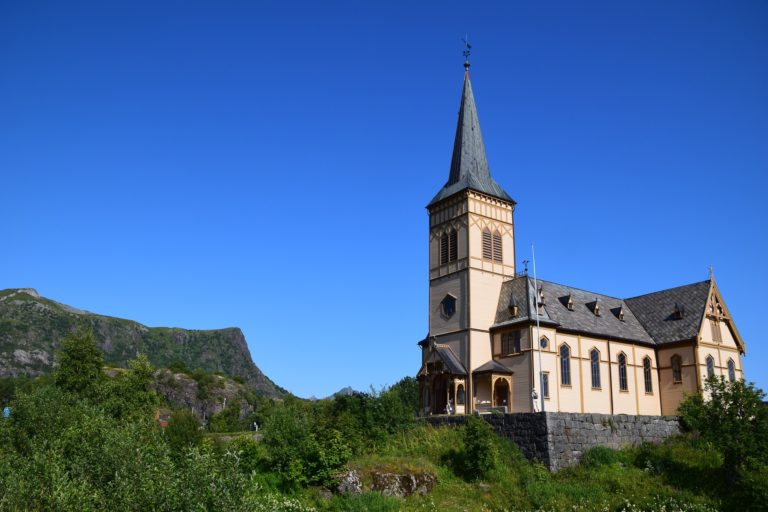 The Vågan Church, also known as The Lofoten Cathedral @ Martin Kraut
