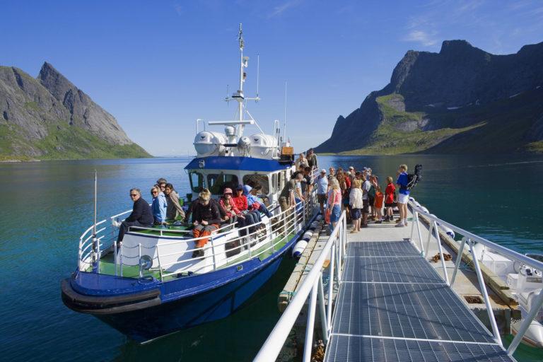 Båtruta på Reinefjorden © Bård Løken