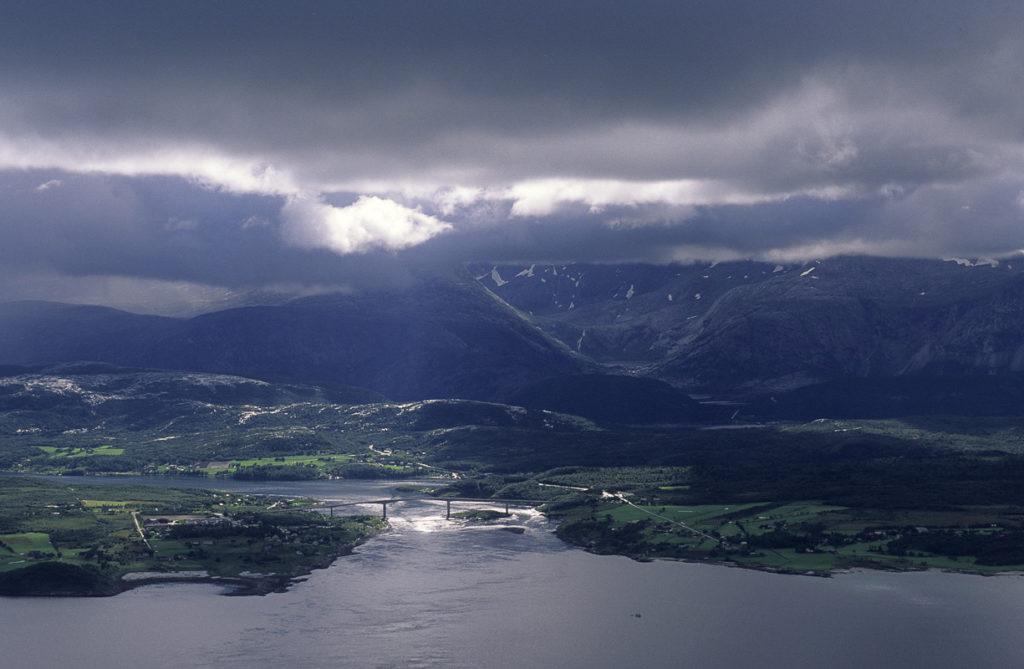 Saltstraumen ligger rett utenfor Bodø