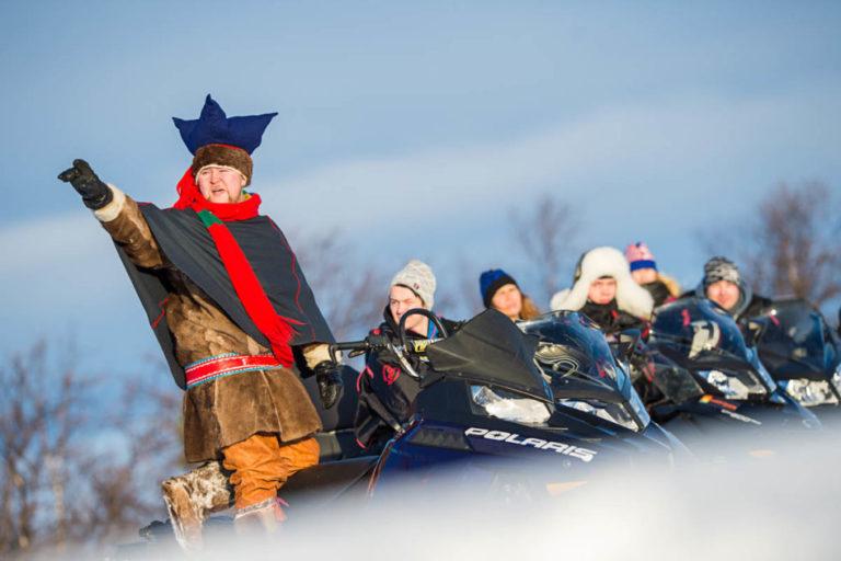 Snowmobilling in Finnmark © Ørjan Bertelsen