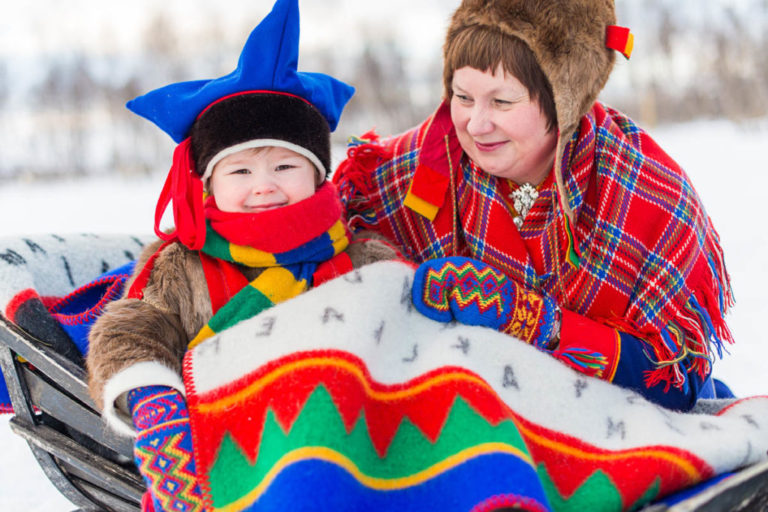 The Sami language are related to the Uralic linguistic group © Ørjan Bertelsen