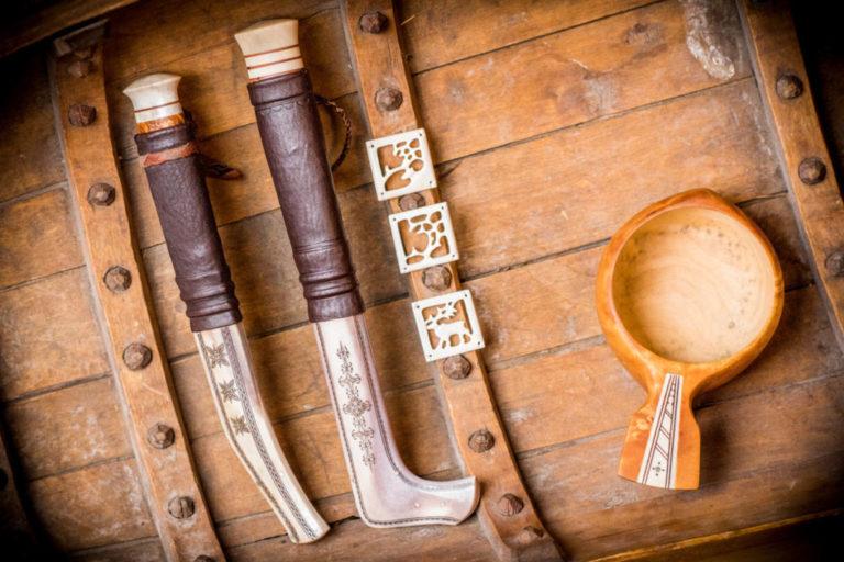 Sami handcraft © Ørjan Bertelsen