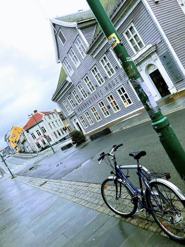 Tromsø isn't always sunny. But walking the street at midnight has its own beauty © Knut Hansvold