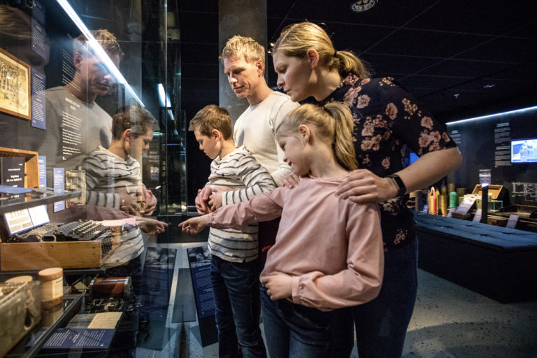 Reliving the drama of the Battle of Narvik in 1940 at the excellently presented Narvik War Museum © Michael Ulriksen