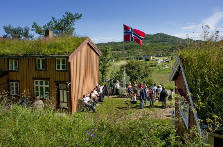 Knut Hamsun's childhood home © Ernst Furuhatt