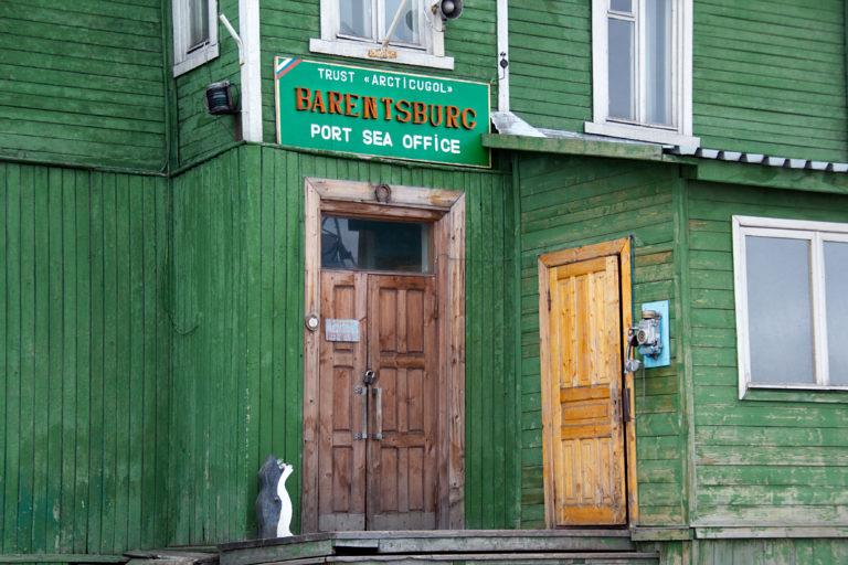 Barentsburg is a community with around 470 inhabitants © Marcela Cardenas