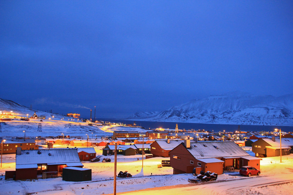 Longyearbyen på Svalbard