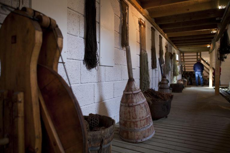 Museum artefacts of fishing history in Northern Norway © Hans Arne Paulsen