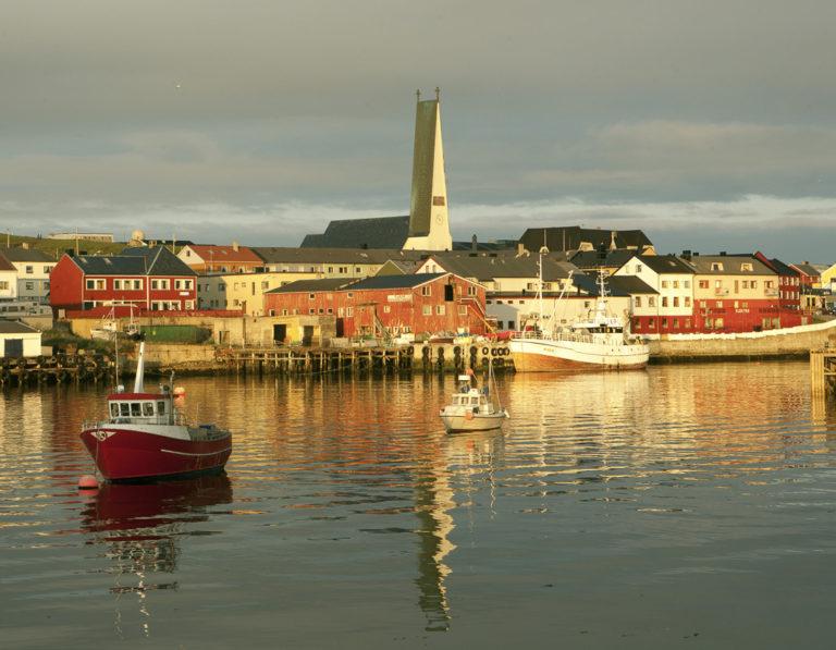 Stille på havna i Vardø © Ole Jørgen Liodden