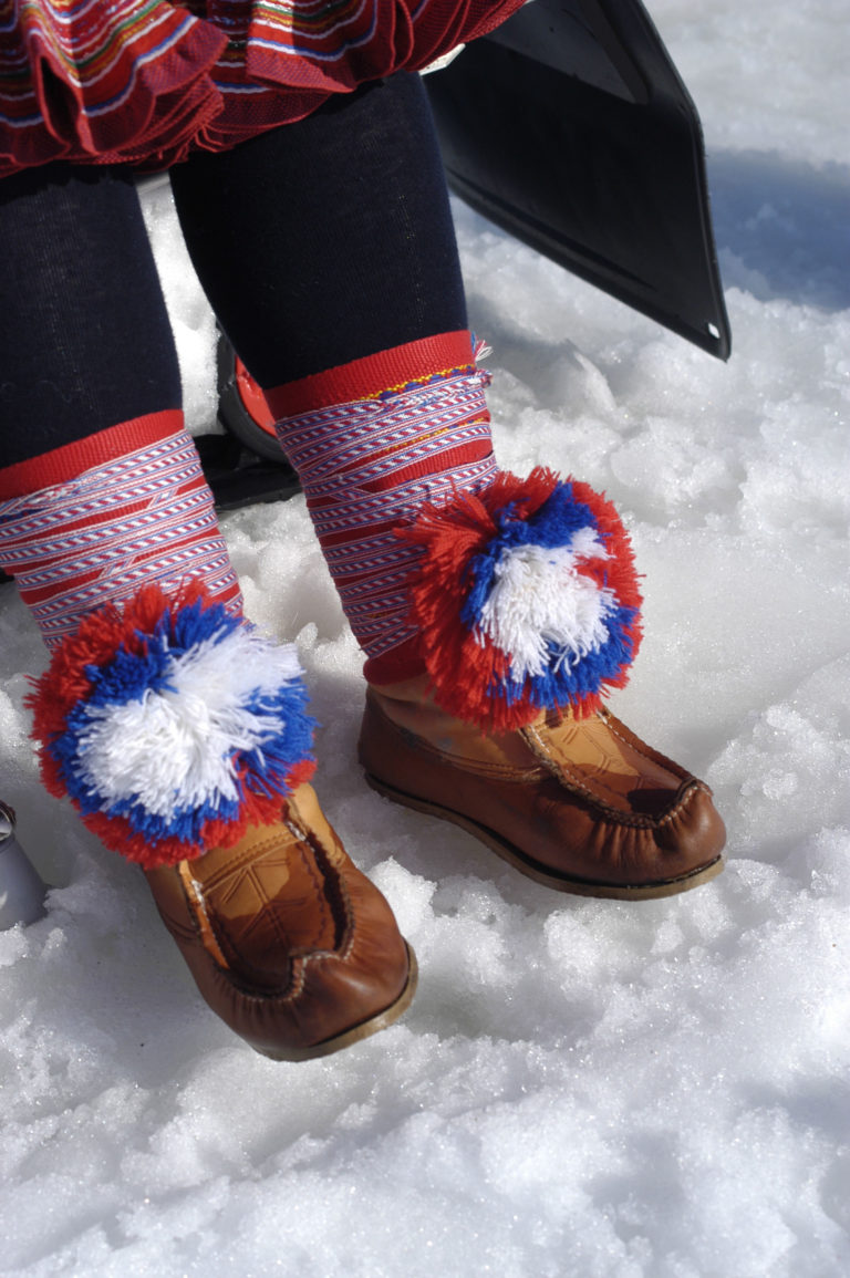 An example of Sami shoes © Joern-Tomter