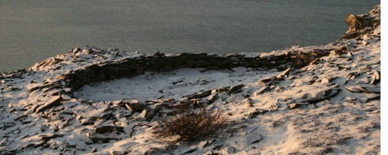 A Circular sacrificial site © Varanger Samiske Museum