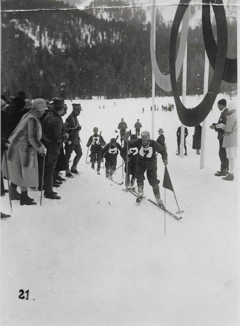 Ole Reistad under OL i St Moritz i 1928