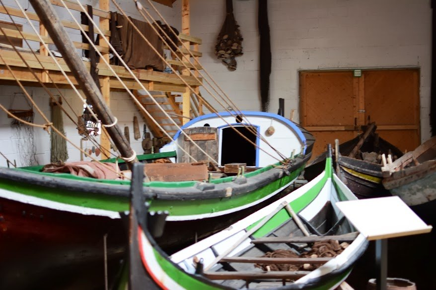 Northern Norway boat museum