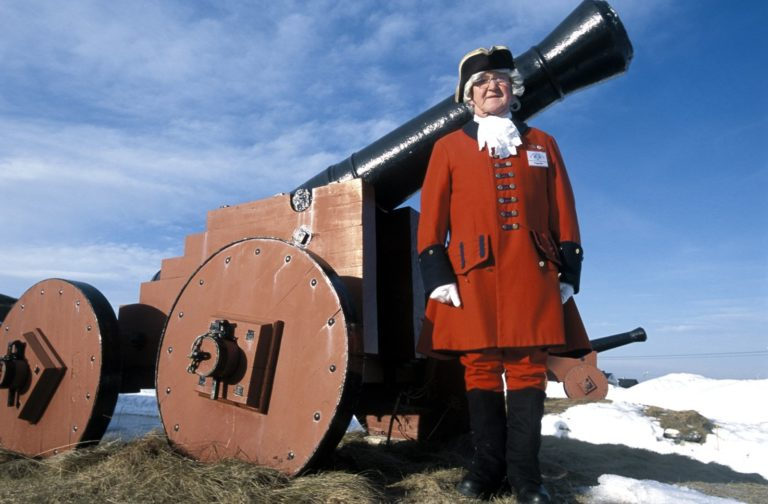 The canons were rarely used © Photo: Trym Ivar Bergsmo/NordNorsk Reiseliv