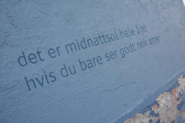 Den måtte jeg tenke litt på... © Knut Hansvold