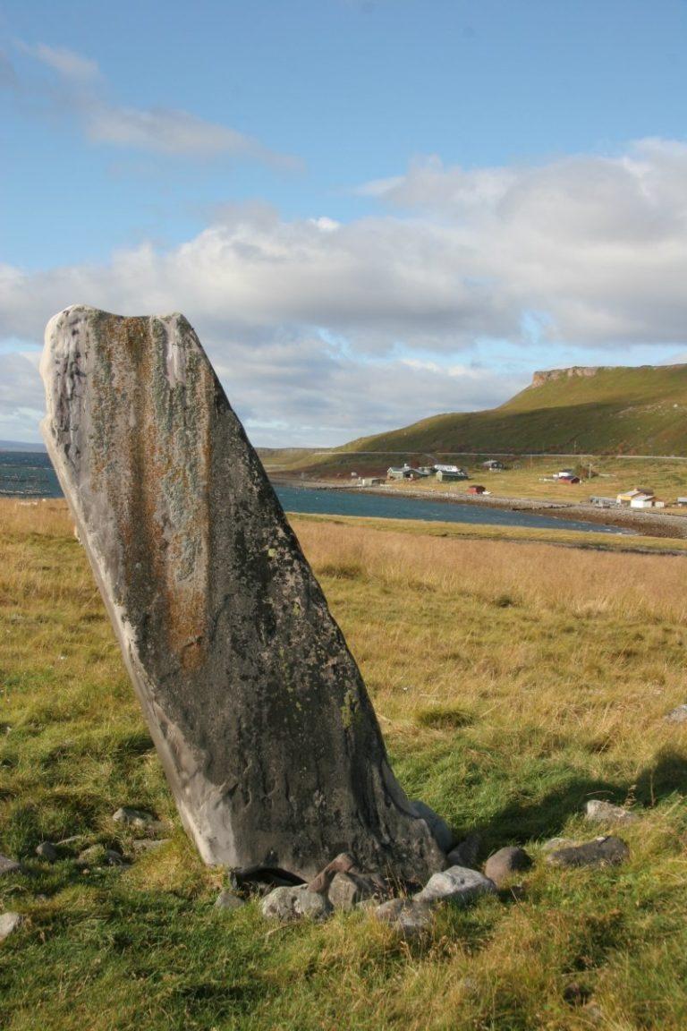 A Sacrificial stone © Varanger Samiske Museum