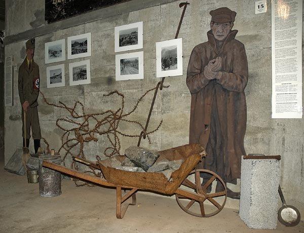Exhibition on prisoners who built the battery © Eva-Ditte Donat