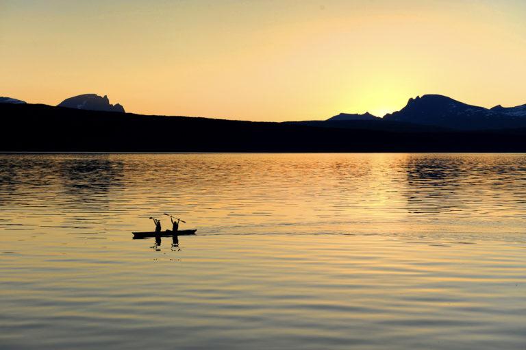 Padling på fjorden © Rune Dahl