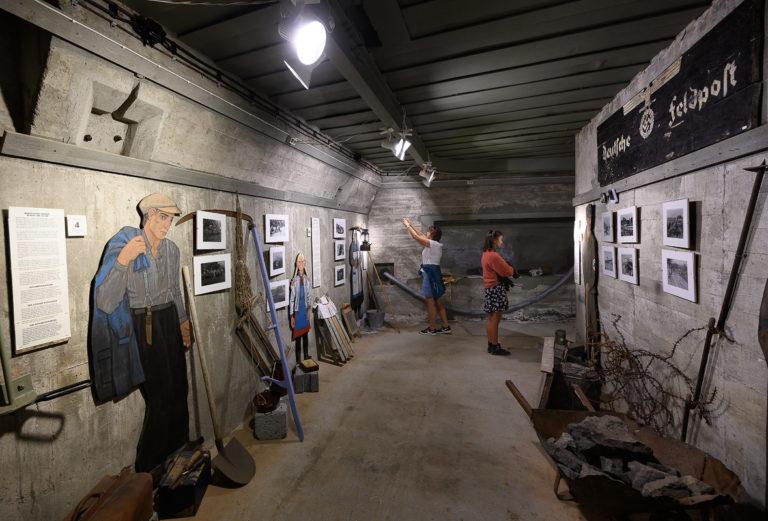 The bunker halls have been turned into exhibits © Ernst Furuhatt/Nordlandsmuseet