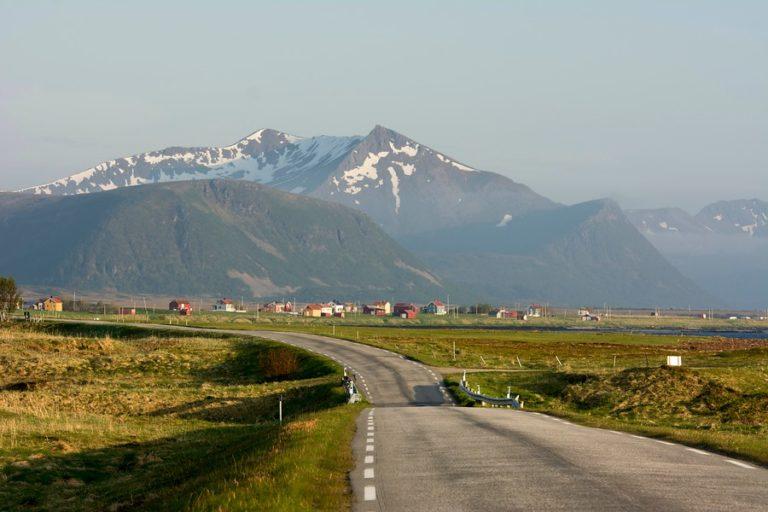 På vei til Bleik © Jarle Waehler