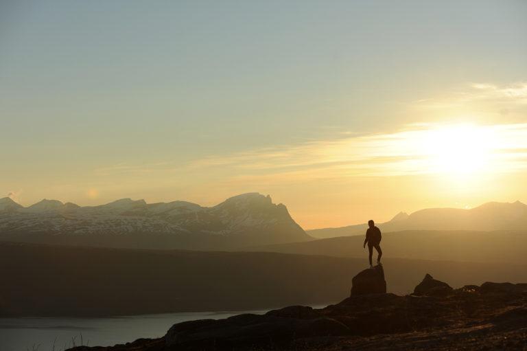 Mykt midnattslys på Narvikfjellet © Rune Dahl