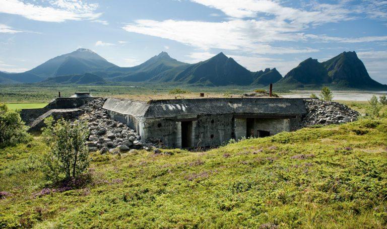 Bunker on a summer's day © Ernst Furuhatt/Nordlandsmuseet
