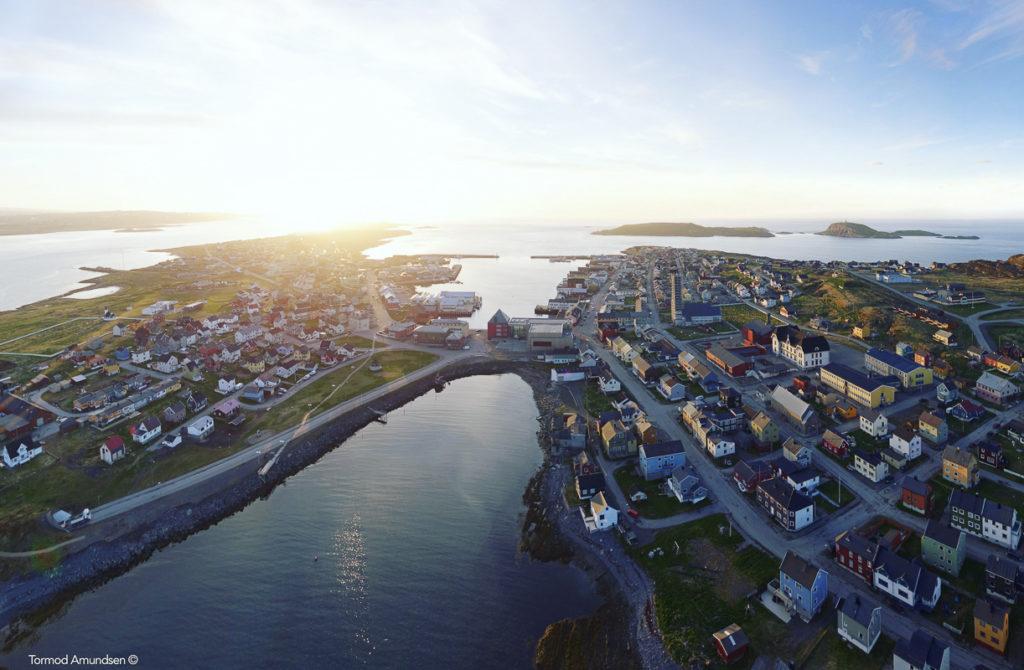 Vardø gets the midnight sun earlier