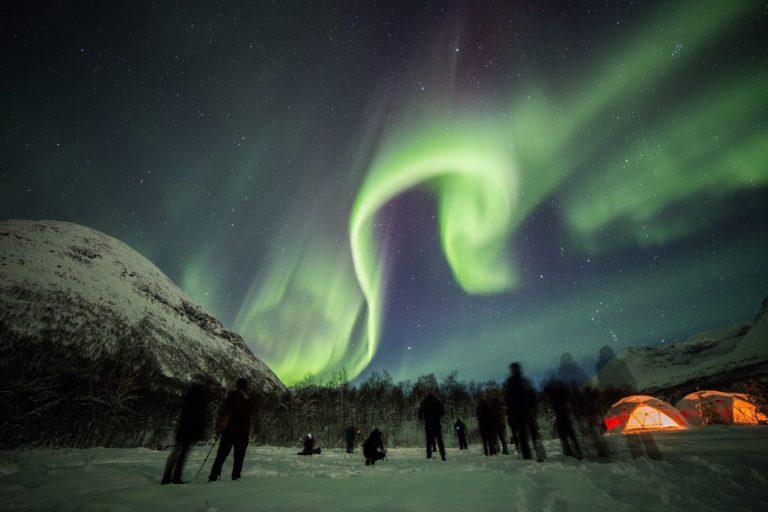 På fototur for å se nordlyset © William Copeland